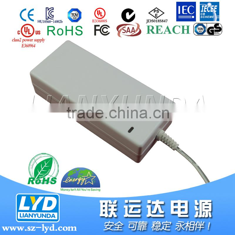 Switching power supply 29V 2A ac dc adapter 58W for electric scooter motor with UL, PSE certificates