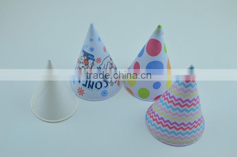 Accept Custom Order and Aseptic,printable Feature paper cone paper cone for special and customized logo design