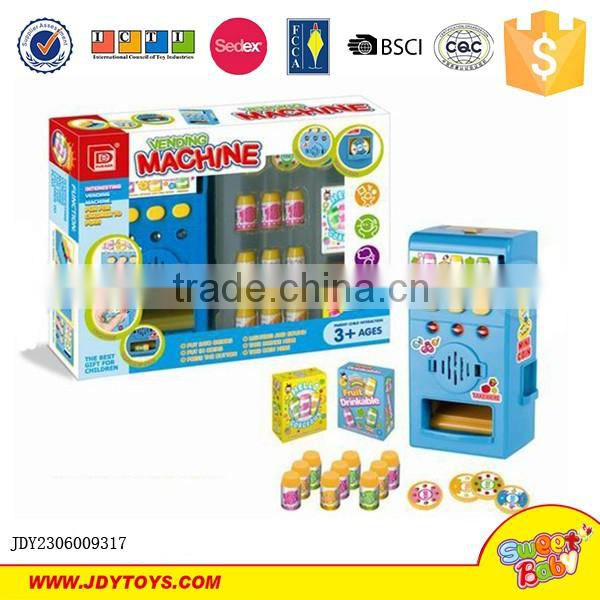New interesting vending machine set toy for kids