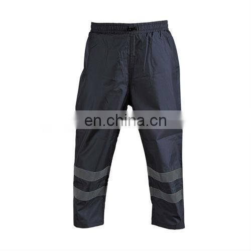 High Visibility Reflective Rain Pants Conforms to EN471