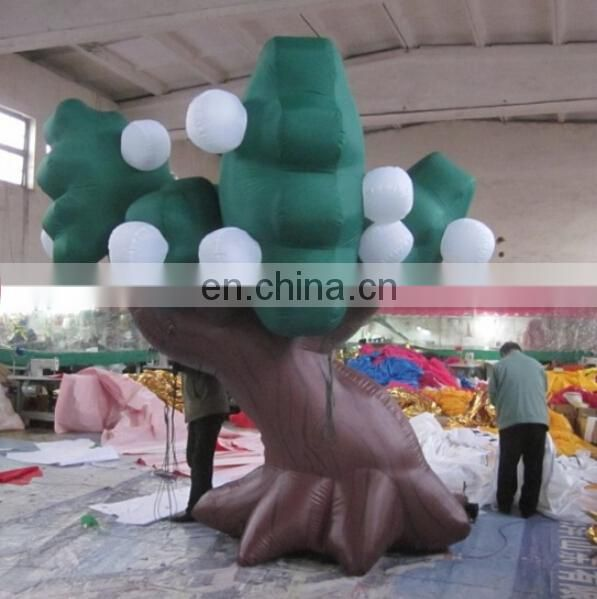 giant inflatable tree with LED lights for sale
