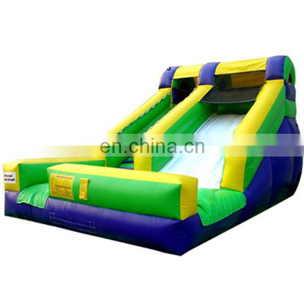 2013 new commercail inflatable slides 15 feet slide inflatable dry slide