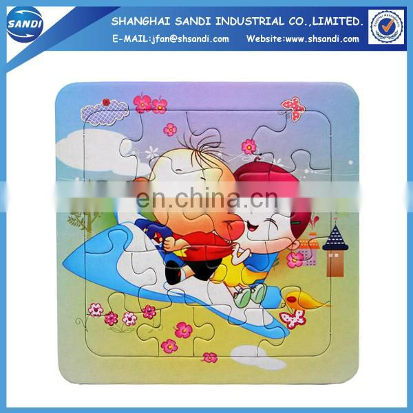 Cheap promotional custom jigsaw puzzles