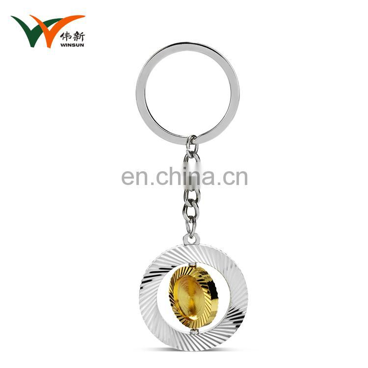 High quality business gift zinc alloy metal custom key chain