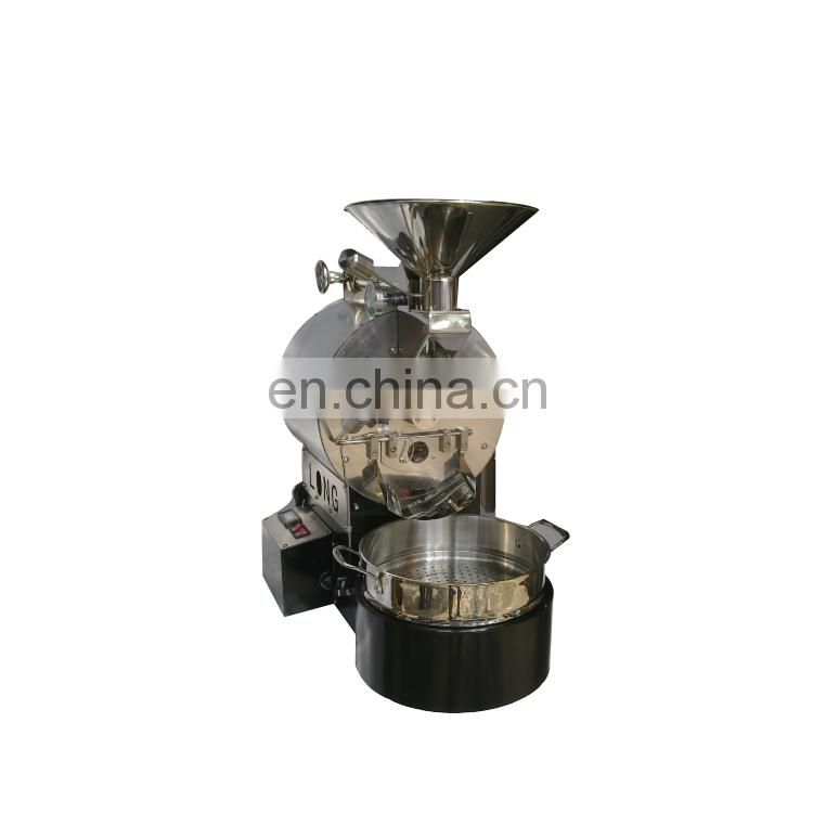 China best quality 1kg gas and electric coffee bean roaster provided
