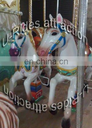Merry go around hourse carousel games for kids