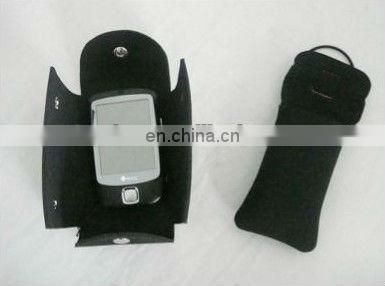 Neoprene mobile phone pouch with many colors