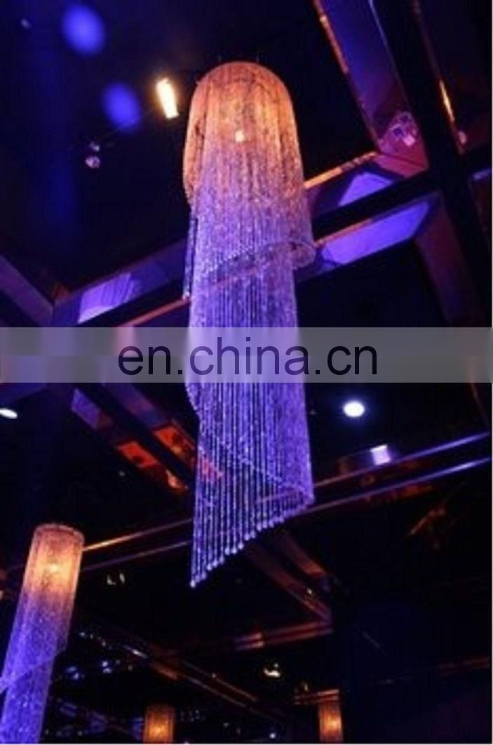 6ft Super Sized Acrylic Beaded chandelier for wedding centerpieces