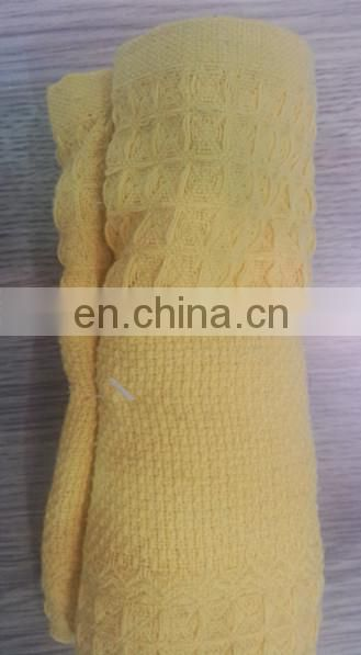 embroidery design cotton 100% towel for Provence
