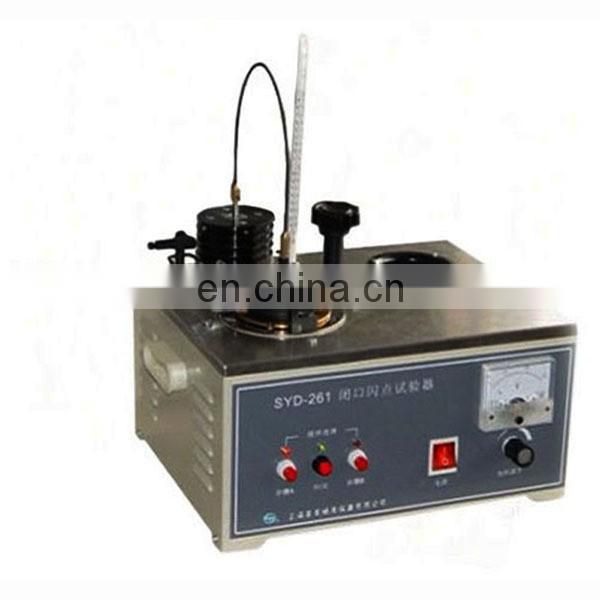 SDY-261 Fully Automatic Closed Cup Flash Point Tester for Oil
