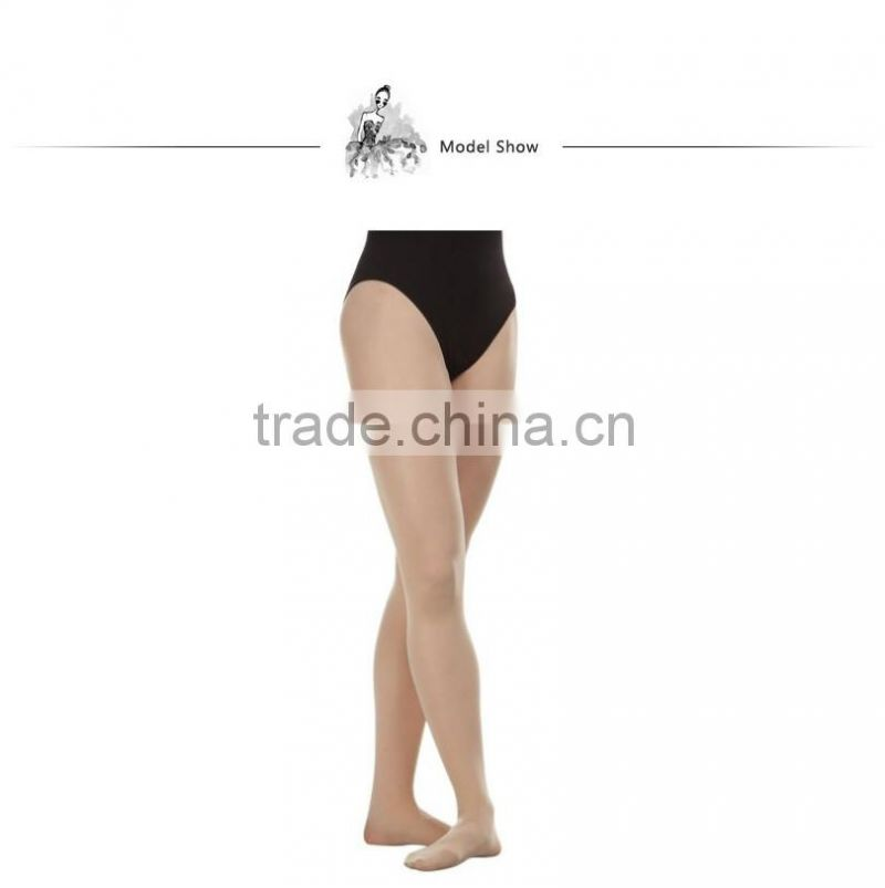 D004848 Dttrol ballet dance nylon feet tube pantyhose tights for women