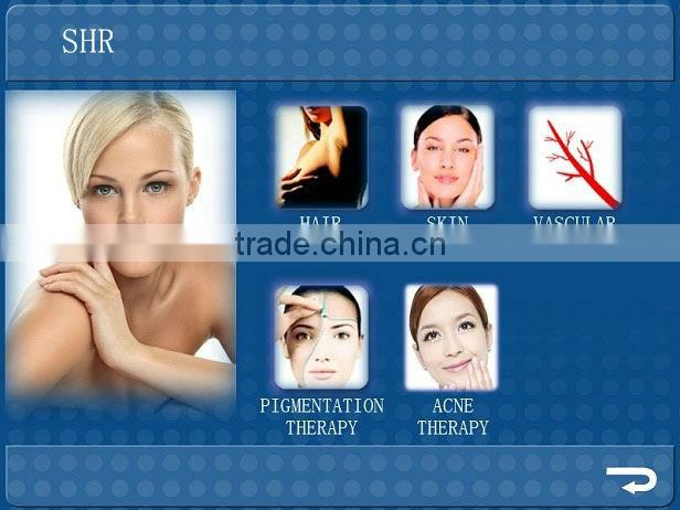 Hottest selling strong power hair remove shr with CE SFDA certificate TRUE factory price