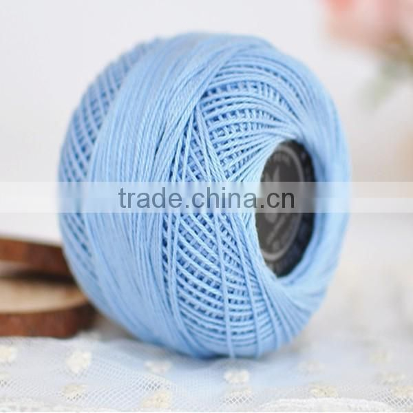 3# Lace Thread 6S/3 Ply Crochet Cotton Yarn