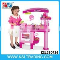 Plastic children pretend play toys dresser with piano set