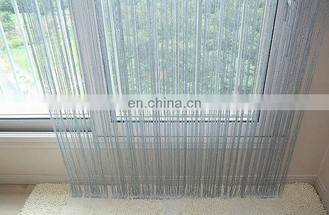 cheap price fashional style windows curtain with sequins