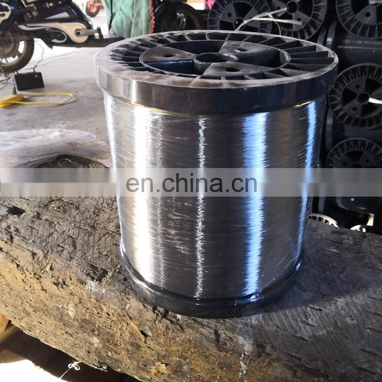 Galvanized steel wire 0.8 mm 0.18 mm 0.13 mm for produce kitchen scourer