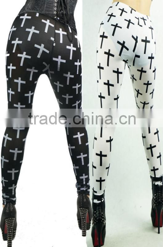 sexy girls tights leggings photos gold black spandex pvc/latex rubber/ vinly hold silver print leggings panties