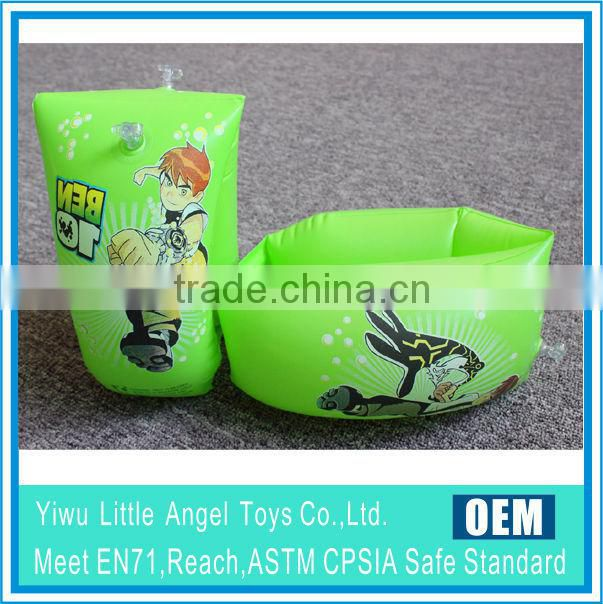 2014 HoT SELLING Promotion inflatable arm rings with logo printed