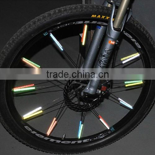 Reflective Mount Clip Tubes for Bike