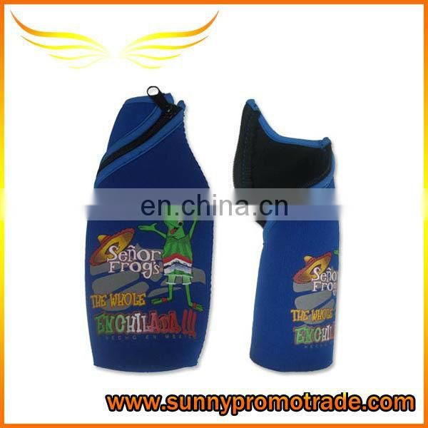colorful neoprene beer can holder for promotion gifts