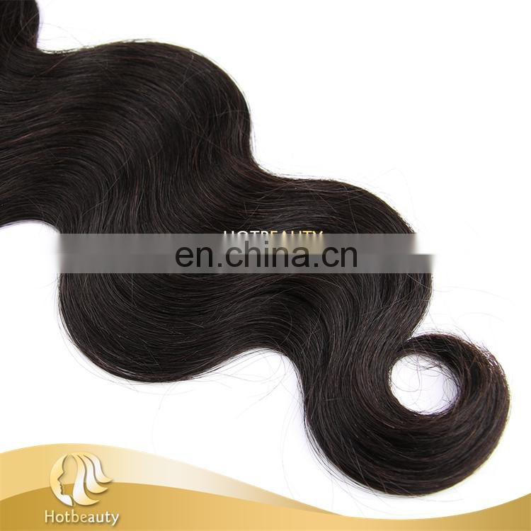 Peruvian bundles cuticle aligned hair for body wave hair extension