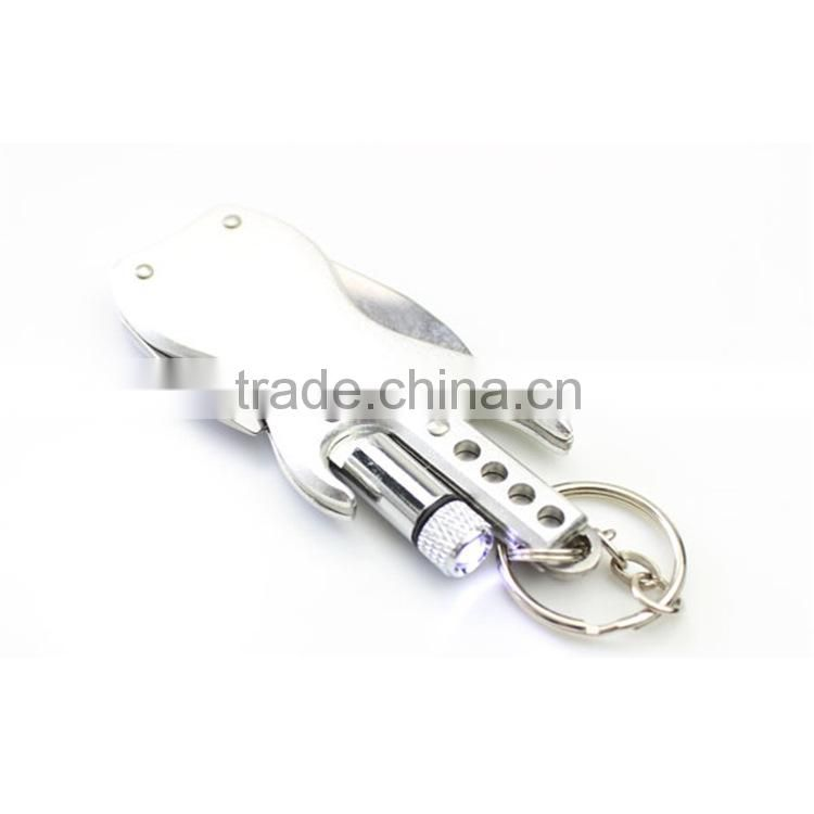 Gita shape muti-functional gift knife