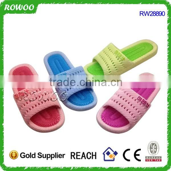 Discount Waterpoof man plastic home PVC INJECTION slippers