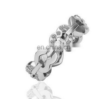 Elegant AAA CZ Diamond Heart Alloy Rings for Women Wedding Engagement Vintage Ring Zirconia Bijoux High Quality Alloy Ring