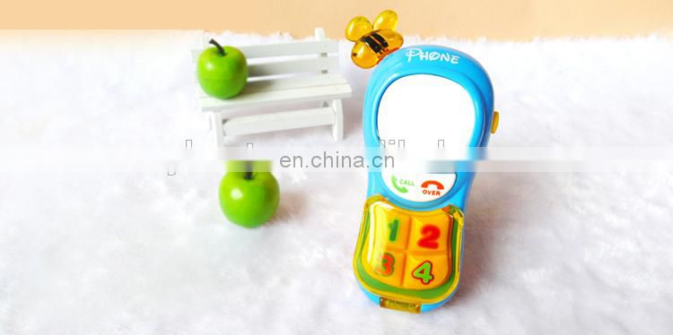 Cartoon Kids Mobile Phone Toy With Music And Light