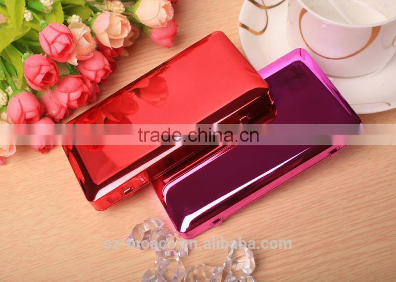 Hot Selling Luxury promotion power bank 4500mah, mirror power bank for lady
