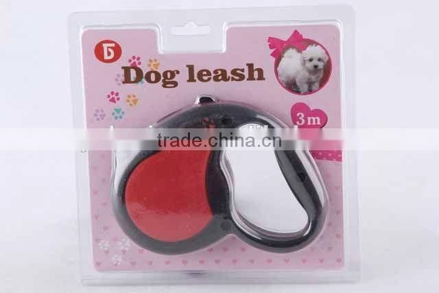rope dog leash with pet rubbish bag