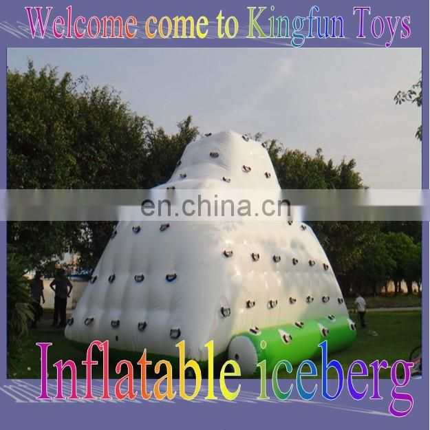 Floating Inflatable rock climbing wall