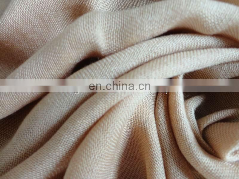 40S scarf woven worsted modal silk fabric