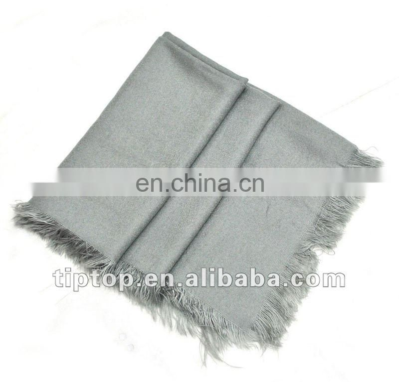 black imitation cashmere scarf