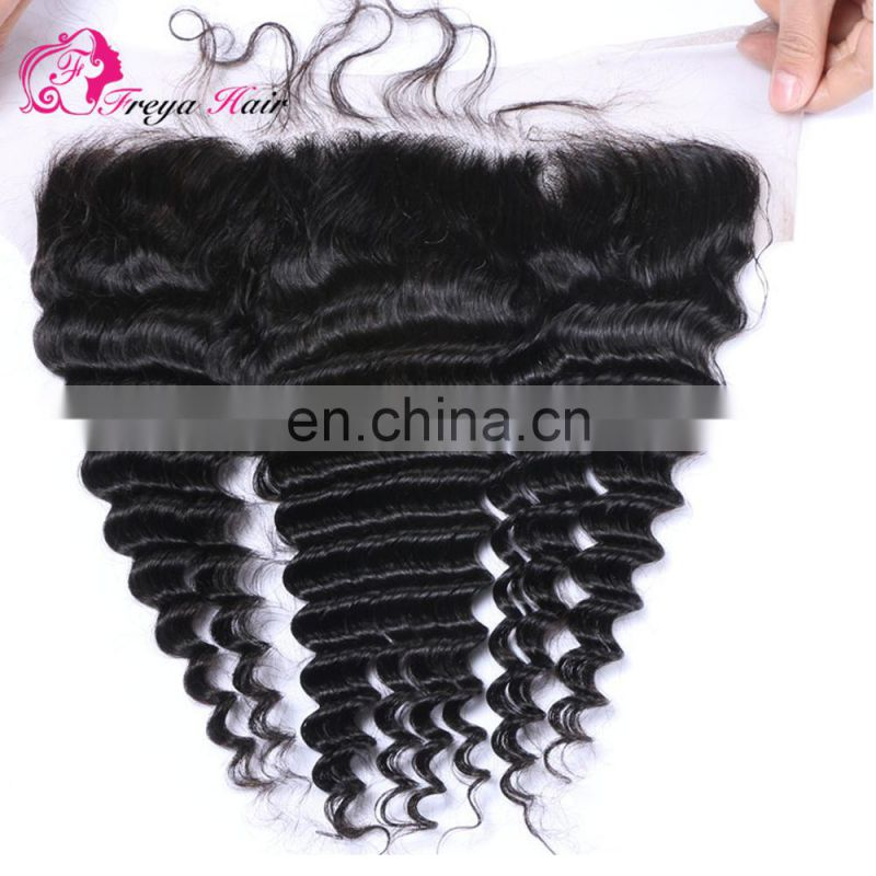 Wholesale Factory Price Brazilian hair loose wave cheap lace frontals