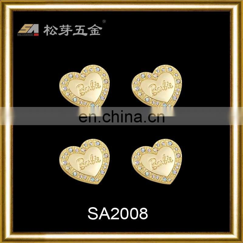 Factory sale metal heart shape rivet manufacturer