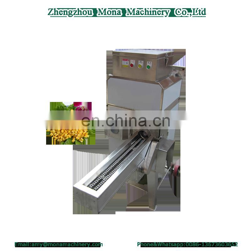 Factory supply large-scale dried corn thresher imported corn thresher fresh corn peeling suede thresher