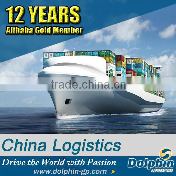 Freight forwarding container from China sea ports to USA