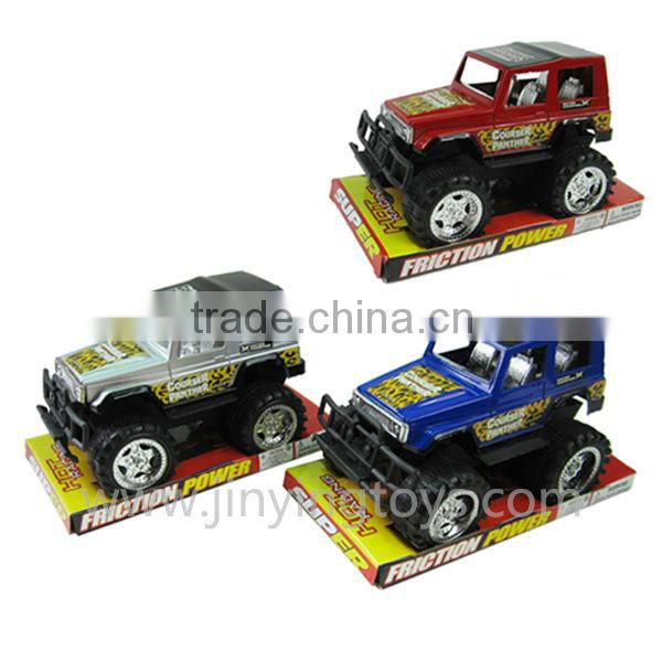 Cheap mini friction plastic jeep toys