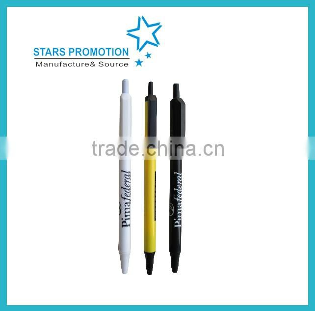 cheap plastic pen made in china with many styles and colors