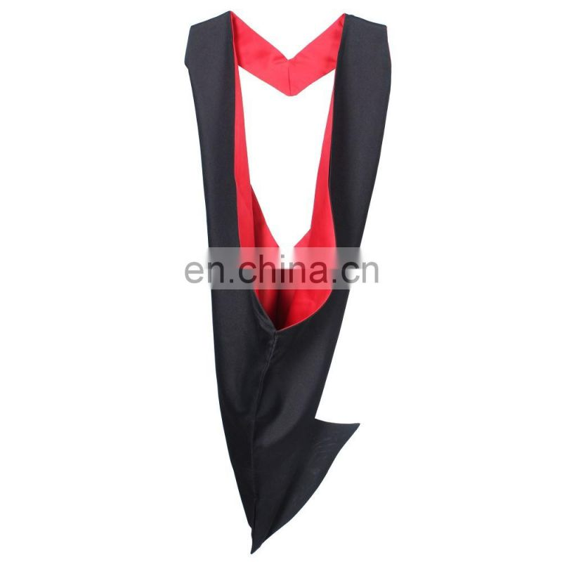 2016 Hot sale High quality Doctoral Graduation Hood