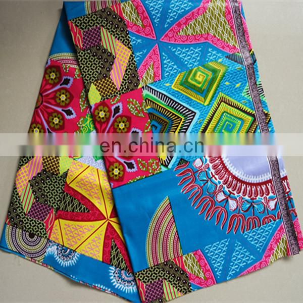 african wax JAVA prints veritable hitarget wax fabric clothing dress