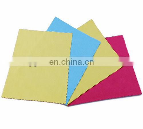 logo printed microfiber lens cleaning cloth for kids
