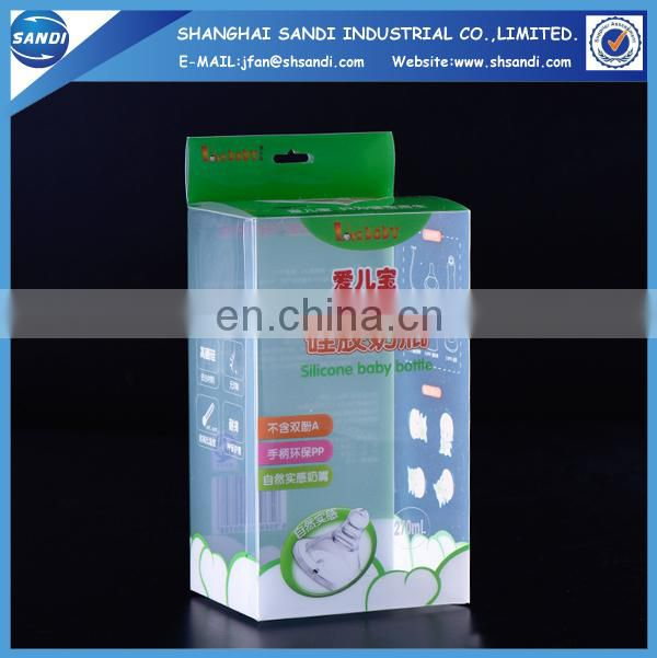 Plastic packing PET box with printing