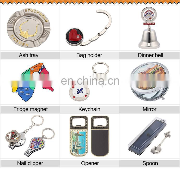 2015 fashional portable personalized souvenir cosmetic mirror