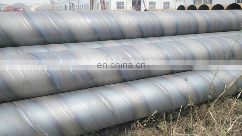Industrial Hot Rolled A53 A106 S15C Mild Spiral Welding Iron Pipe
