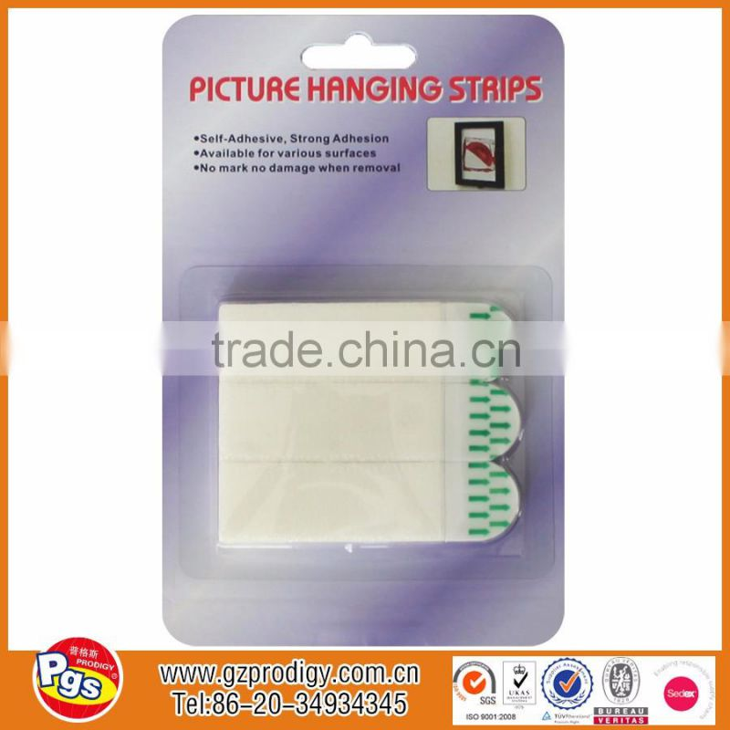 Double Sided Frame Hanging Tape Picture Hanging Strips Of Adhesive