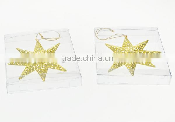 Hot Sale Xmas Metal Star Hanging Ornament Stand
