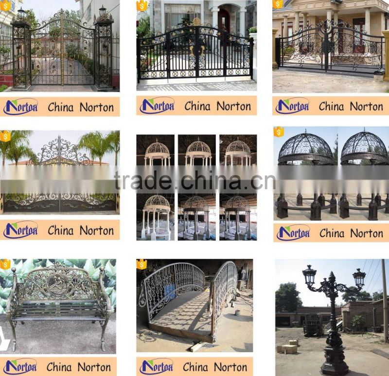 Wrought Iron Gate And Main Courtyard Gates NTIRG-005S
