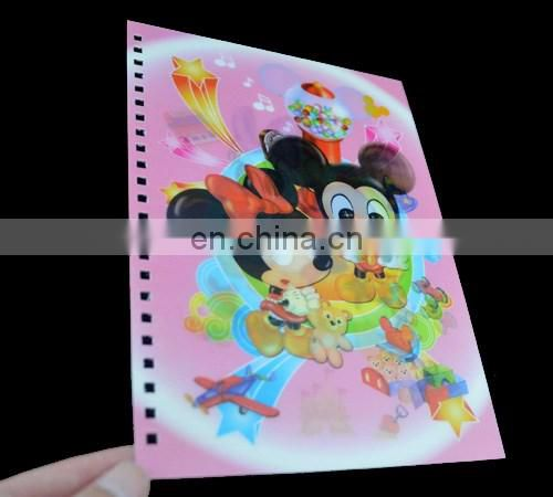 Custom design printed PP Sheet for A5 Notebook
